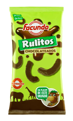 RULITOS CHOCOLATEADOS- BOLSA GRANDE